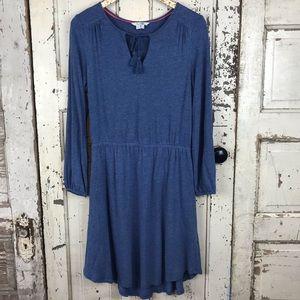 Boden linen blend dress